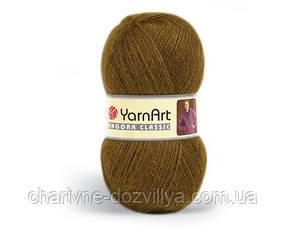 Пряжа для ручного и машинного вязания Angora Classic YarnArt /Ангора Классик YarnArt