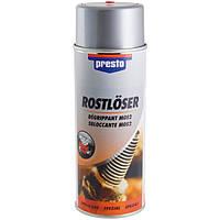 Растворитель ржавчины на основе графита и молибдена Presto Rostlöser ✓ аэрозоль 400мл.