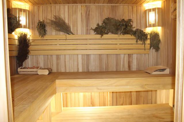 Проект гостевого дома с баней 1
