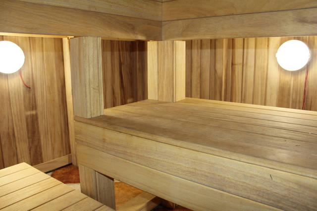 Проект гостевого дома с баней 2