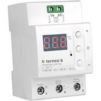 Terneo b Терморегулятор для теплого пола на DIN рейку 16 А, 3000ВА