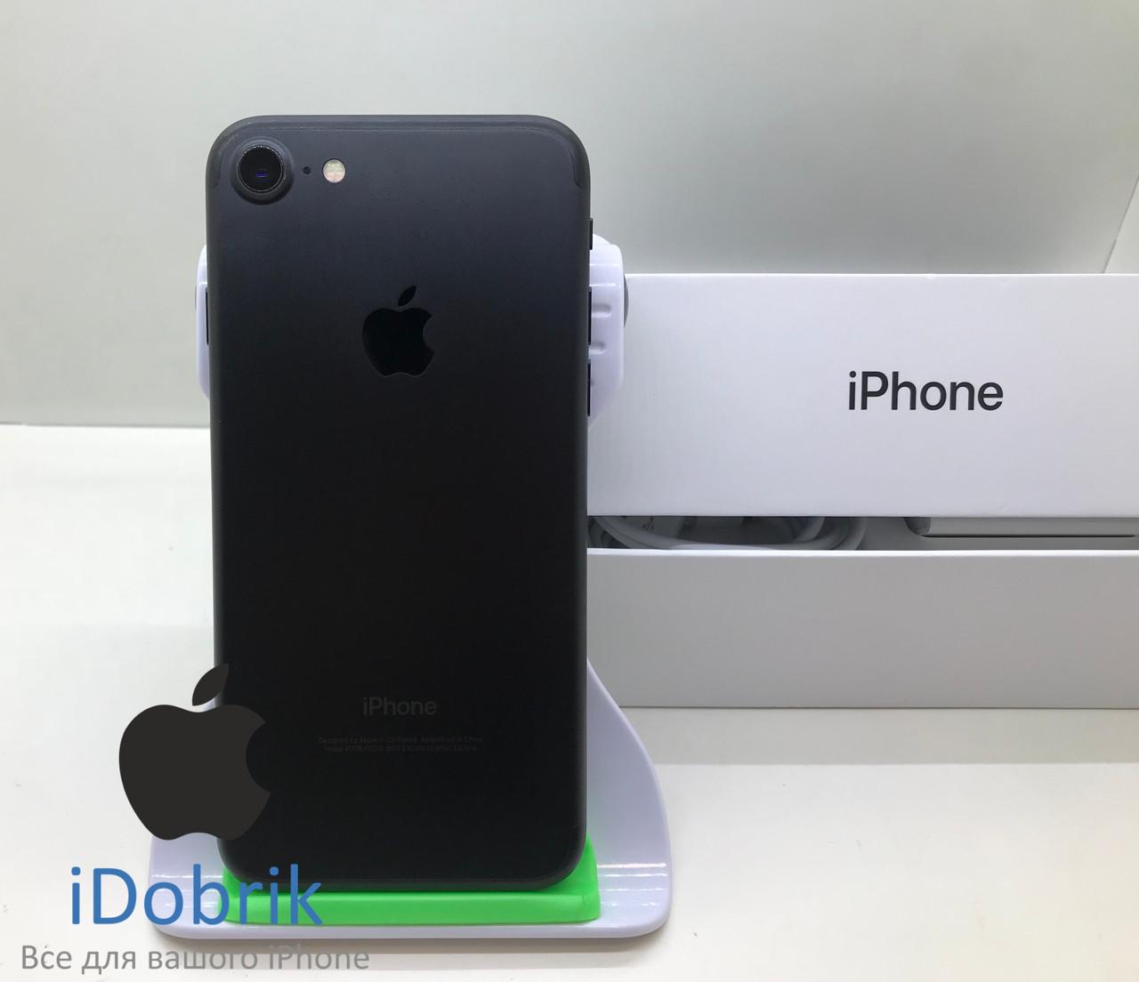 Телефон Apple iPhone 7 32gb Black Neverlock 9/10
