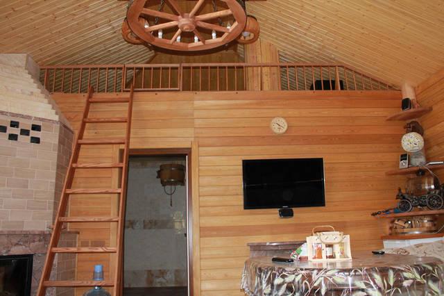 Проект гостевого дома с баней 16