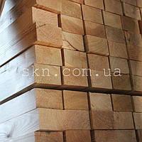 Брус из сибирской лиственницы 30х60х4000  (сухой, строганый) сорт А/В
