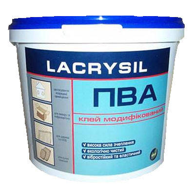 Клей ПВА модифицированный Lacrysil (Лакризил) (0,9 кг)