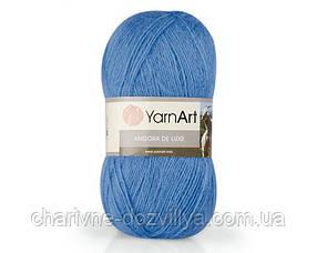 Пряжа для ручного и машинного вязания Angora De Lux YarnArt /Ангора Люкс YarnArt
