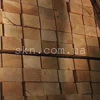 Брус из сибирской лиственницы 38х60х4000  (сухой, строганый) сорт А/В