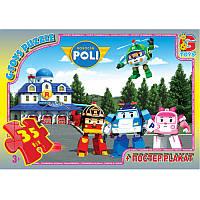 """Пазли із серії """"Робокар Поллі"""", 35 елементів RR067431 ТМ """"G-Toys"""""""