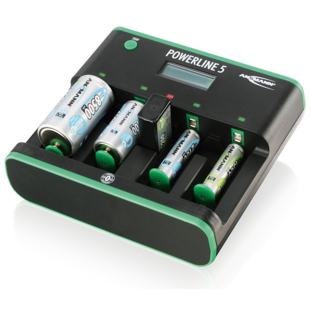 Зарядное устройство Ansmann Power Line 5 Zero-Watt