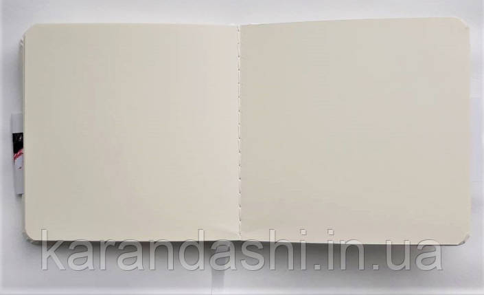 Блокнот для графики Talens Art Creation 12*12см 80л 140г/м черная обложка, фото 2