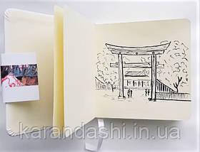Блокнот для графики Talens Art Creation 12*12см 80л 140г/м красная обложка, фото 2