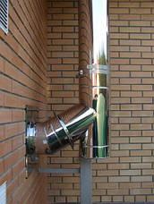 Труба-сэндвич дымохода (термо) 1 метр 1 мм н/н AISI 321, фото 3