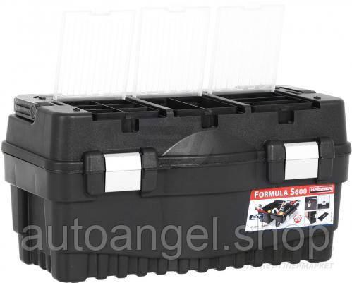 """Ящик для инструмента, 3 органайзера HAISSER Formula S600 Alu 22"""" (90021)"""