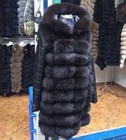 Меховая куртка из песца