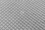 """Плюш """"Пирамидки"""", серого цвета (М-59), фото 3"""