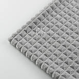 """Плюш """"Пирамидки"""", серого цвета (М-59), фото 5"""