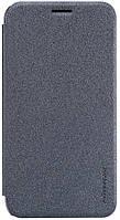 Чехол-книжка Nillkin Sparkle Leather Case Samsung Galaxy J1 Mini Prime Black, фото 1