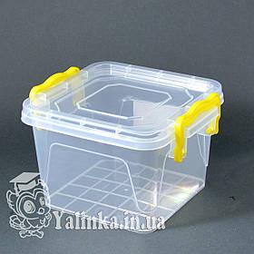 Пищевой контейнер с крышкой 1,2л  А-12