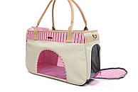 Сумка переноска для собак и котов Do do pet, SmileSmile Pink, розовый