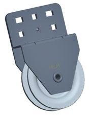 Блок ручного подъема секционных ворот