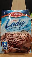 Сухое мороженное Lody domowe Cykoria шоколад 60гр