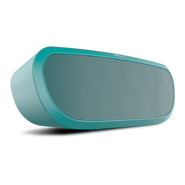 Беспроводная стерео Bluetooth колонка  ZEALOT S9 с функциямиMP3 плеера, спикера, FM.Голубой цвет