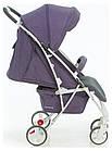 Коляска прогулочная Quatro Mio №15 purple (фиолетовый-графит), фото 2