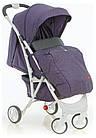 Коляска прогулочная Quatro Mio №15 purple (фиолетовый-графит), фото 3
