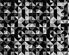 Коляска 2 в 1 Bexa Cube (White Amo) CU-5 черно-серый-белый (треугольники), фото 7