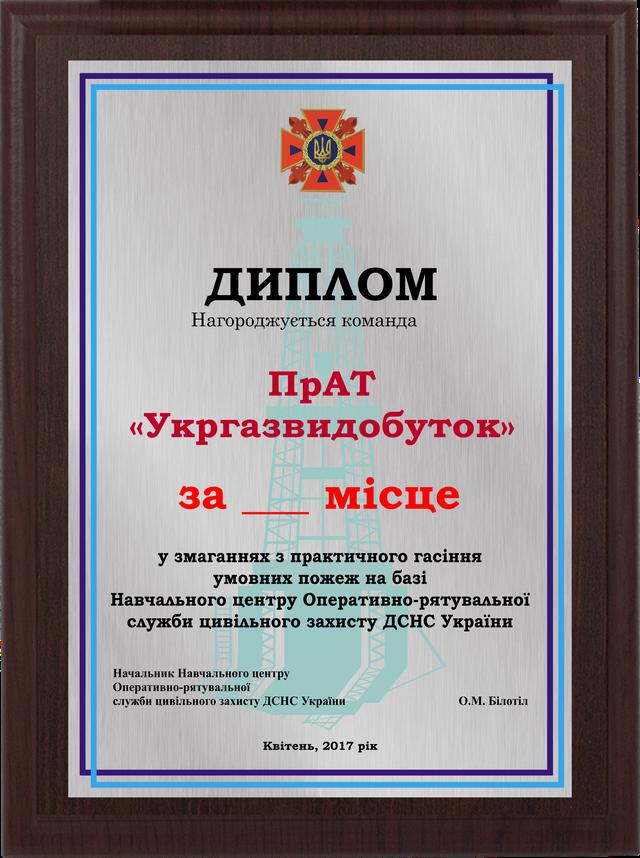 Металлический диплом