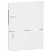 Щит внутр 6 модулей 1 ряд белые двери MINI PRAGMA Schneider Electric MIP22106