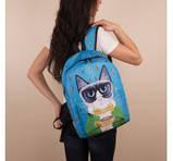 Универсальные рюкзаки для учебы взрослый-подросток (принт)41*30, фото 3