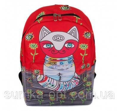 Универсальные рюкзаки для учебы взрослый-подросток (принт)41*30