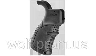 Эргономичная прорезиненная пистолетная рукоятка AGR-43