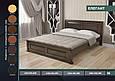 """Кровать деревянная """"Элегант"""" 1,4 сосна, фото 4"""