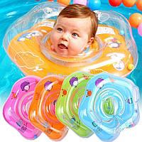 """Плавательный круг """"Бусинка"""" предназначен для купания малышей с первых дней жизни до двух лет. нкру№3434"""