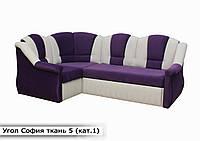 """Угловой диван """"София"""" в ткани 1 категории (ткань 5)"""