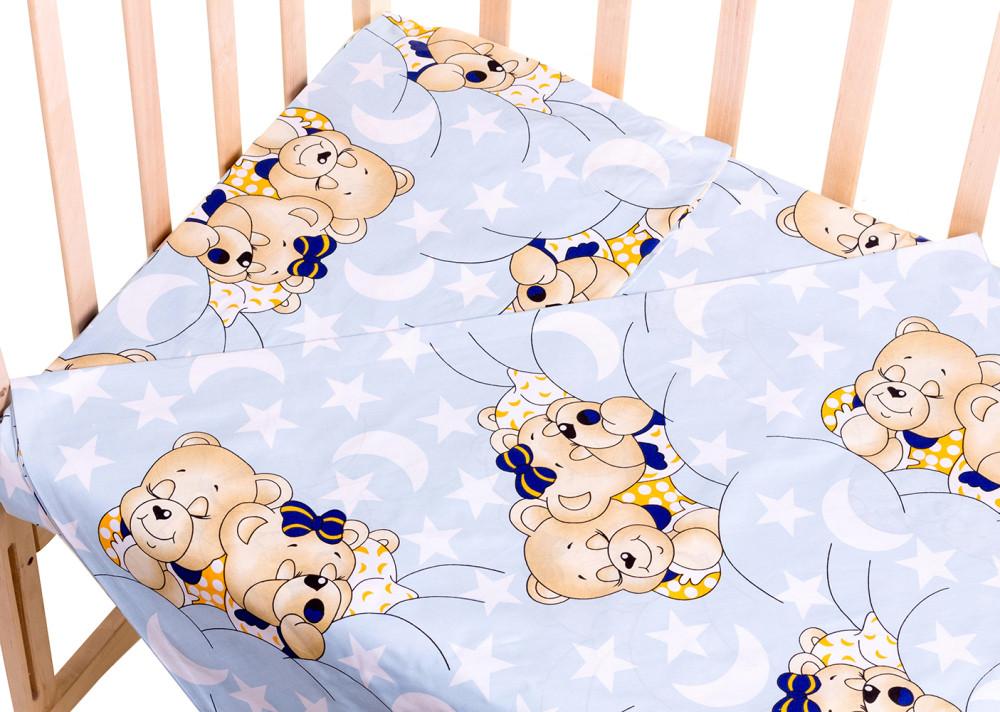 Сменный комплект Qvatro Gold SG-03 рисунок  голубой (мишки спят)