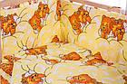 Детская постель Qvatro Gold RG-08 рисунок  желтая (мишки спят), фото 2