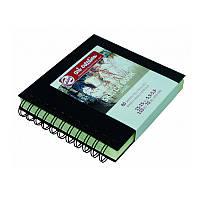 Блокнот для графики Talens Art Creation 15*15см 80л 110г/м черная обложка на спирали