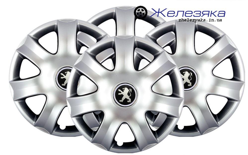 Колпаки на колеса R15 SKS/SJS №326 Peugeot