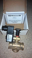 Электромагнитный клапан для газа 1/2 нормально открытый с ручным взводом