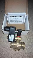 Электромагнитный клапан для газа 3/4 нормально открытый с ручным взводом