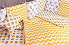Детская постель Babyroom Bortiki lux-08 fox оранжевый - серый, фото 10