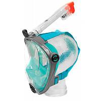 Маска для плавания Aqua Speed Spectra (original) Польша, комплект с трубкой, маска для ныряния, полнолицевая