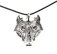 Кулон волк амулет викингов