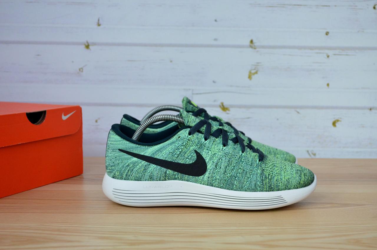 b957889d9585a Мужские летние кроссовки Nike LunarEpic Low Flyknit Running Seaweed Green 843764  300 оригинал - SWOOSH в