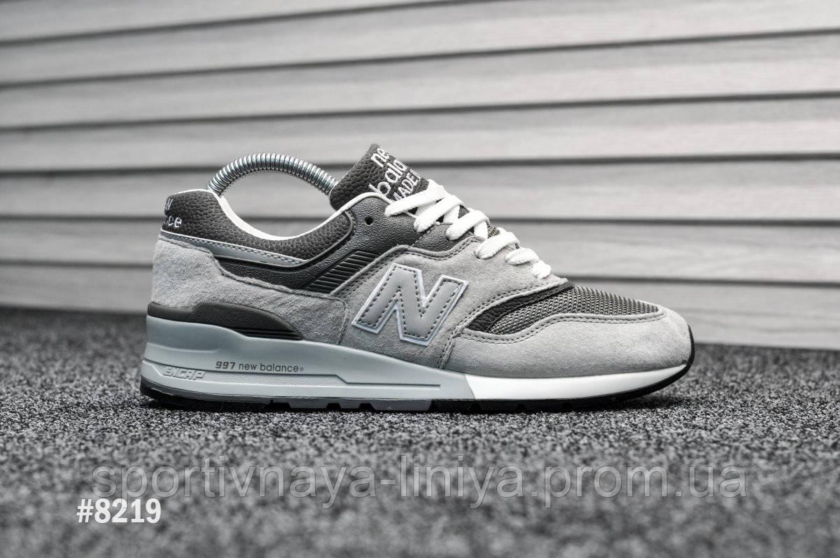 Мужские кроссовки New Balance 997.5 Light Gray (реплика)