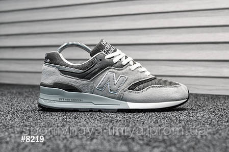Мужские кроссовки New Balance 997.5 Light Gray (реплика), фото 2