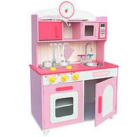 Детская деревянная кухня W75 Tobi Toys, фото 1